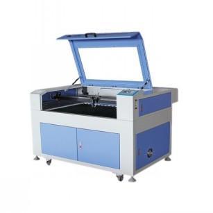ES9060工艺品激光雕刻切割机布料亚克力字加工