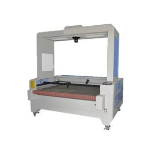 摄像头自动识别商标全自动激光送料切割机