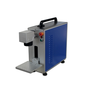 便携式光纤激光打标机20W金属小型首饰轴承打码机