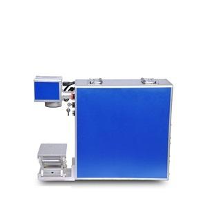 20W铭牌金属标牌光纤激光打标机